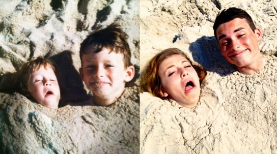 Recreated-baby-head-in-the-sand-photo