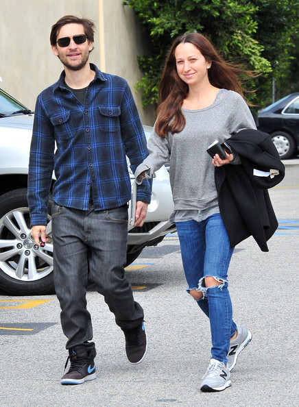 Jennifer Meyer et Tobey Maguire