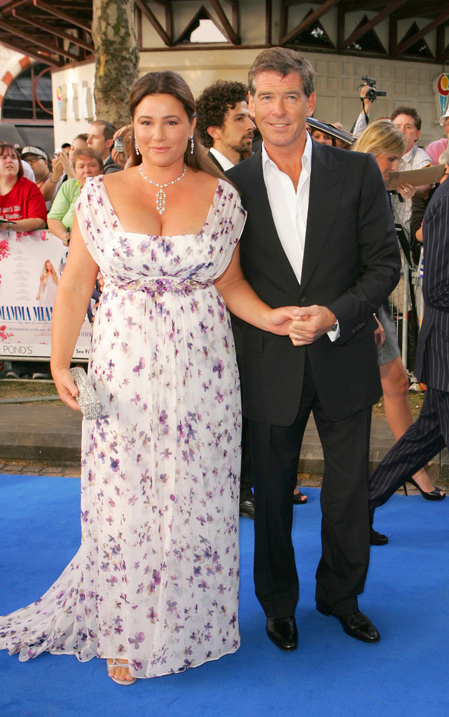 Pierce Brosnan et Keely Shaye Smith