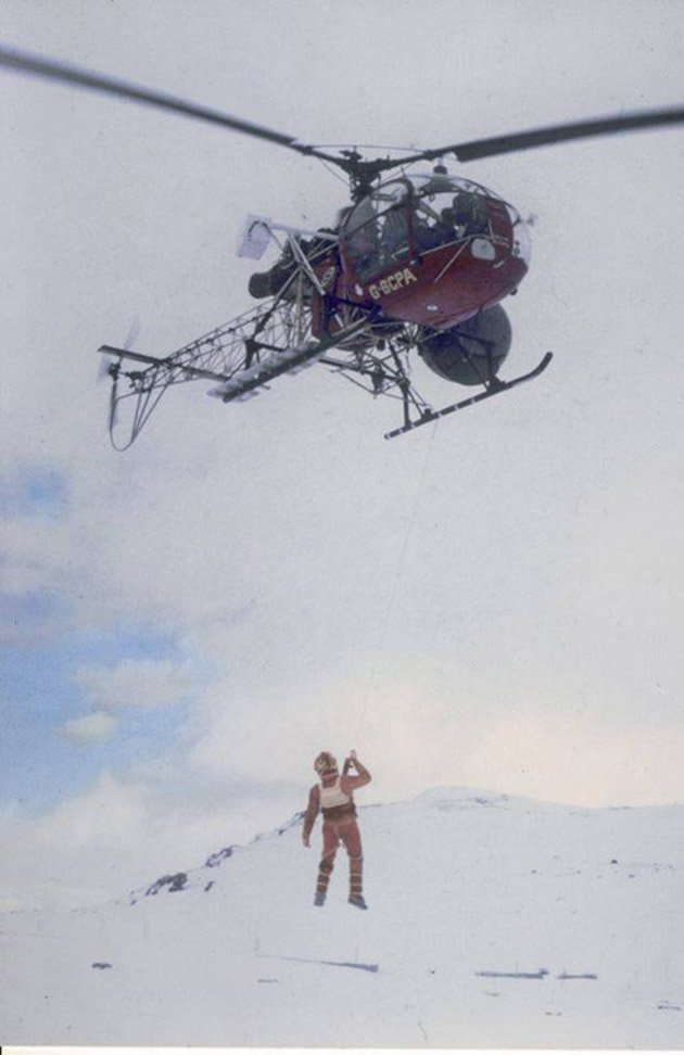 photo des coulisses de Star Wars