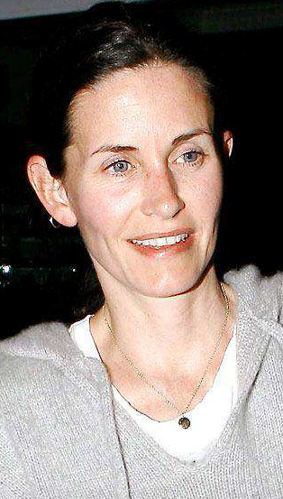 Courteney Cox au naturel sans maquilage photo embarrassante