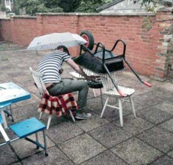chaque probleme a sa solution bbq insolite