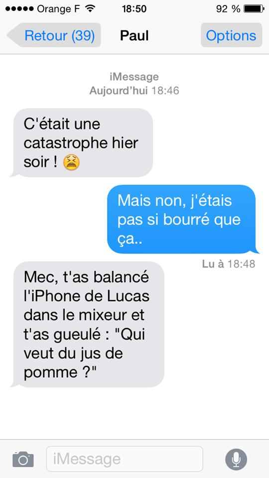 message sms smartphone improbable