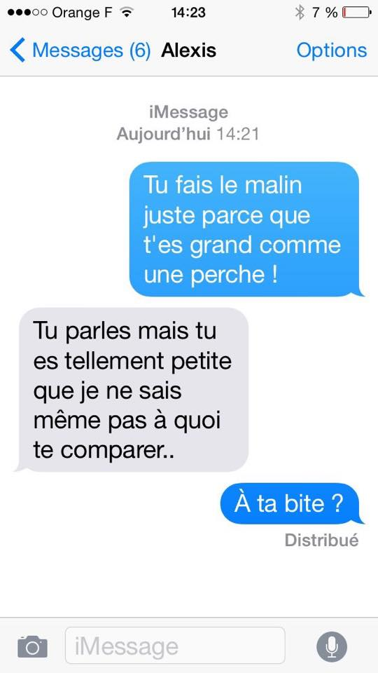 messages sms improbables