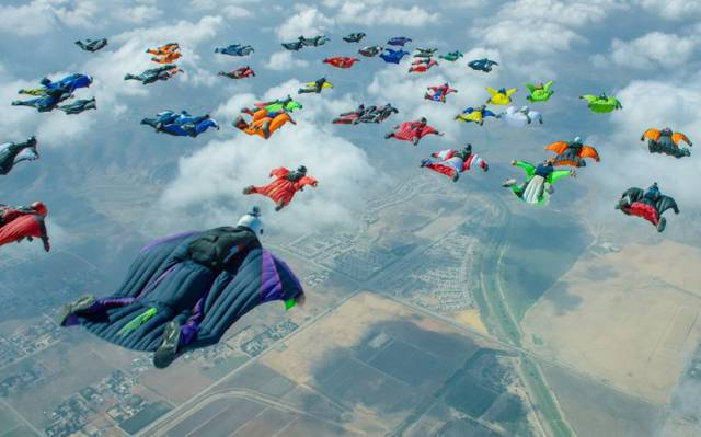 situations inexplicables - hommes volants