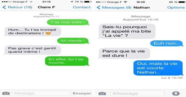 Hervorragend blague drole sms - Blagues.lol VS19