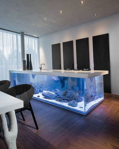 aquarium table