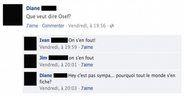 Top 10 des pires statuts Facebook du moment !