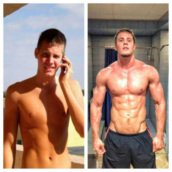 photo changement muscle homme