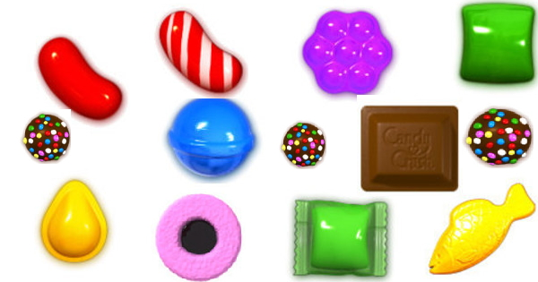 Candy Crush Bonbons