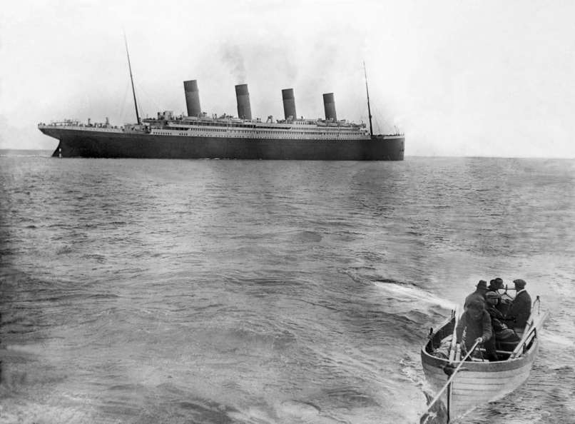 1912 derniere photo du titanic