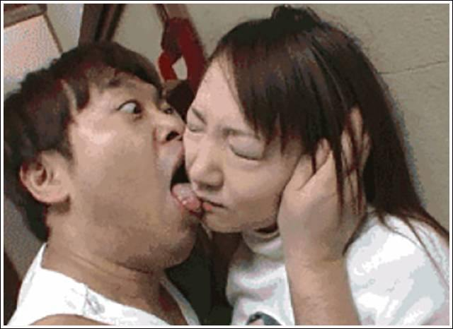homme chinoi bisous horrible