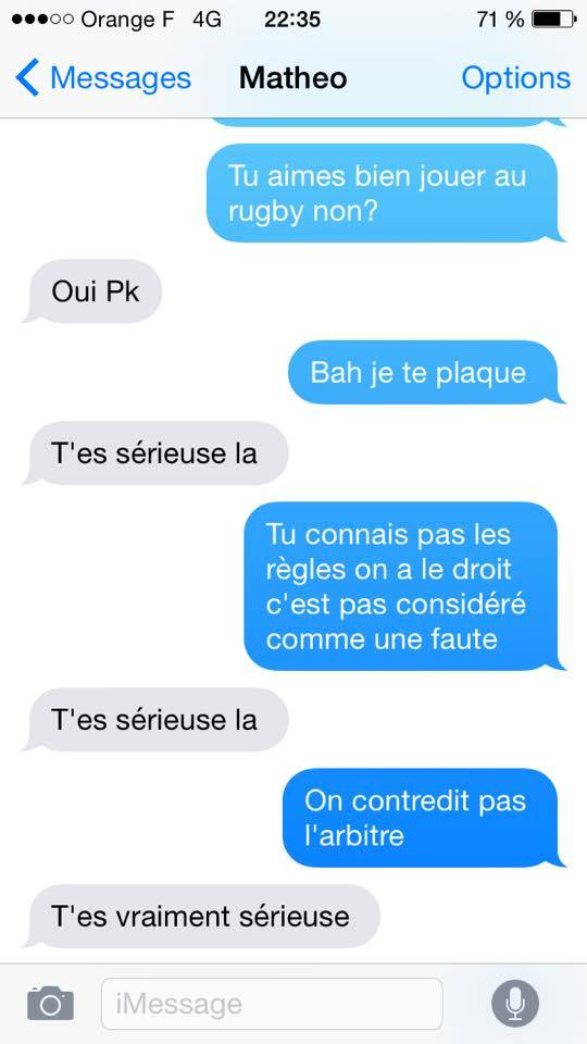 sms rupture rugby