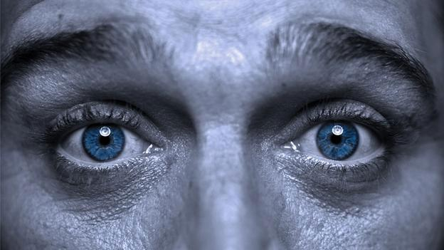 yeux homme perception