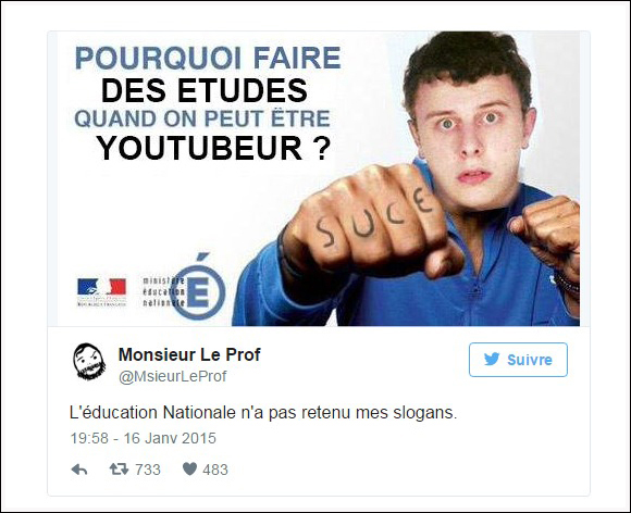tweet éducation-nationale